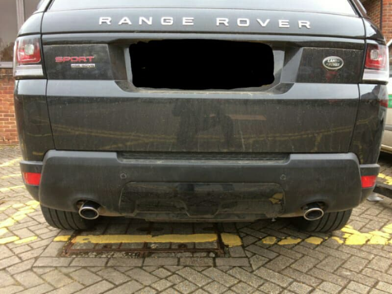 Range Rover Sport before tow bar fitting
